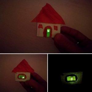casa encendida