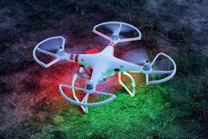 Drone de color