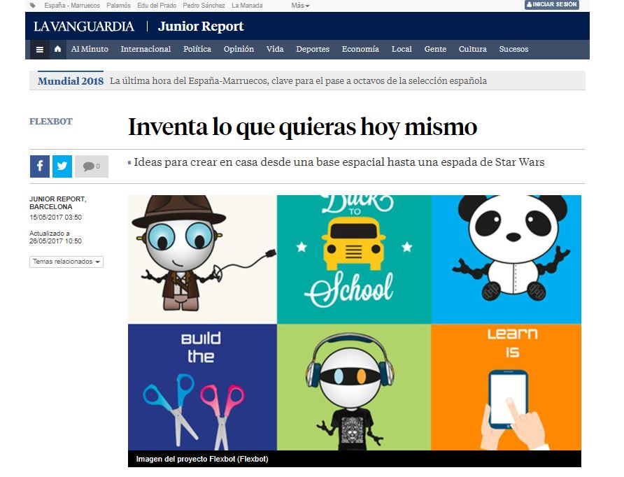 Junior Report Flexbot