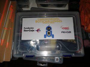 Kit competición Guadalajara BotsChallenges