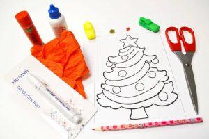 Materiales árbol de Navidad