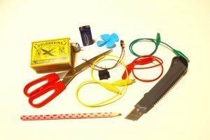 Materiales ventilador flexbot